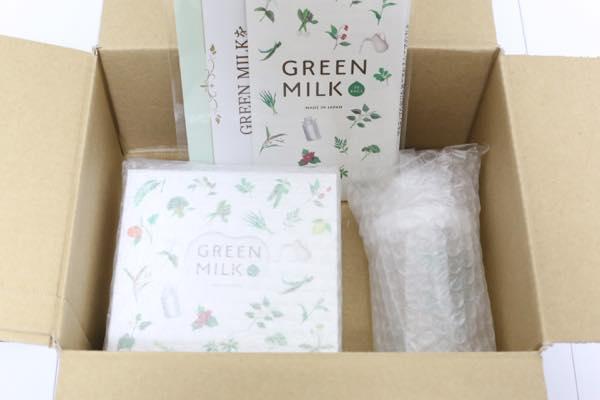 GREENMILK(グリーンミルク)の口コミ体験レビュー2