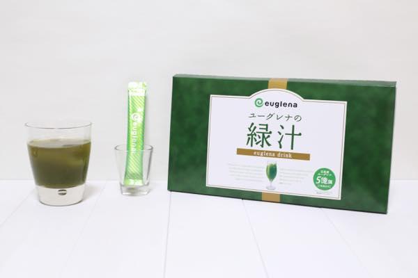 ユーグレナの緑汁の口コミ体験レビュー