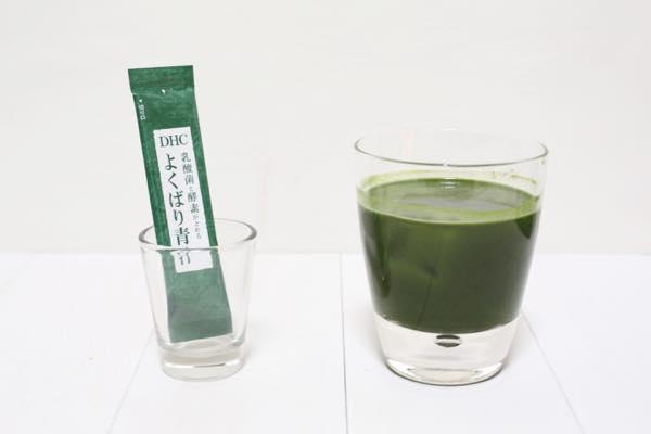 DHC 乳酸菌と酵素がとれるよくばり青汁の口コミ体験レビュー10