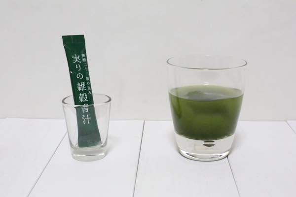 実りの雑穀青汁の口コミ体験レビュー10
