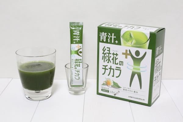 青汁+緑花のチカラの口コミ体験レビュー