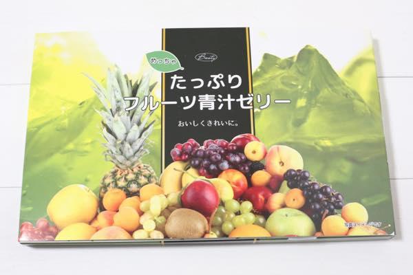 めっちゃたっぷりフルーツ青汁ゼリー3