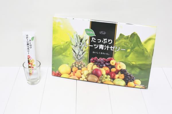 めっちゃたっぷりフルーツ青汁ゼリー8