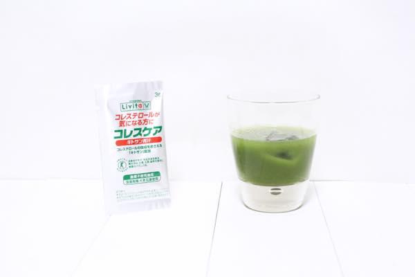 コレスケアキトサン青汁の口コミ体験レビュー10