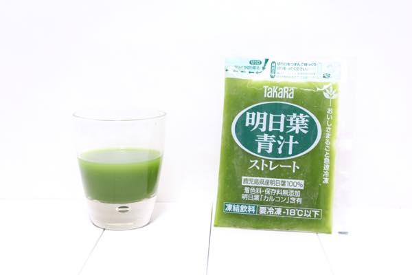 Takara明日葉青汁ストレートの口コミ体験レビュー