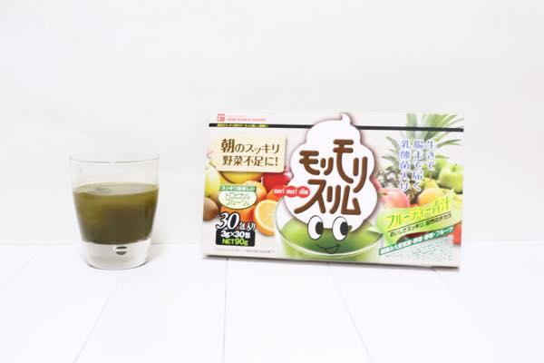 モリモリスリムフルーティー青汁の口コミ体験レビュー12
