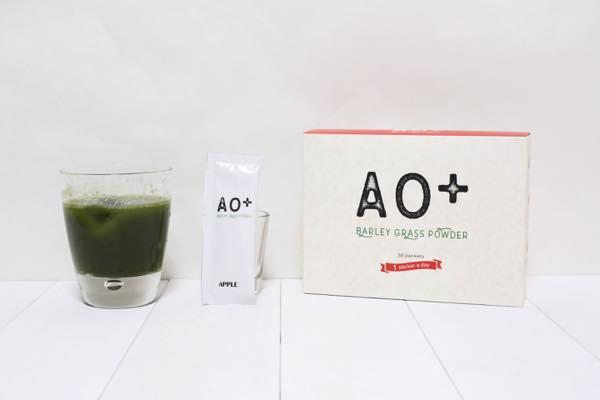 AO+りんご青汁の口コミ体験レビュー