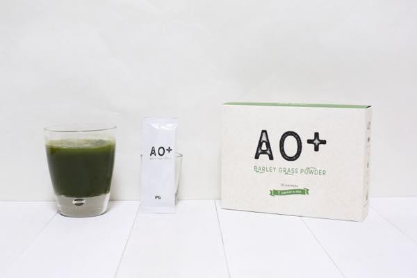 AO+青汁プロテオグリカンの口コミ体験レビュー