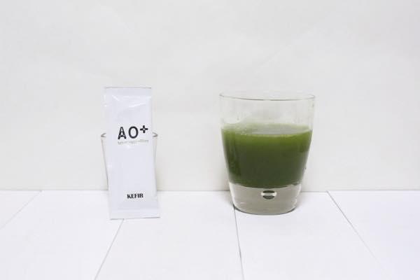 AO+ケフィア青汁の口コミ体験レビュー8