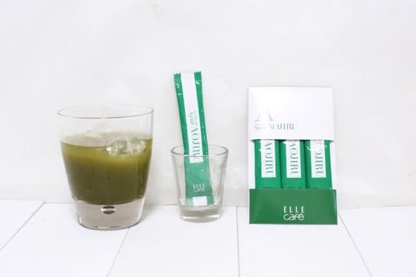 ELLE caféアーユル青汁の口コミ体験レビュー