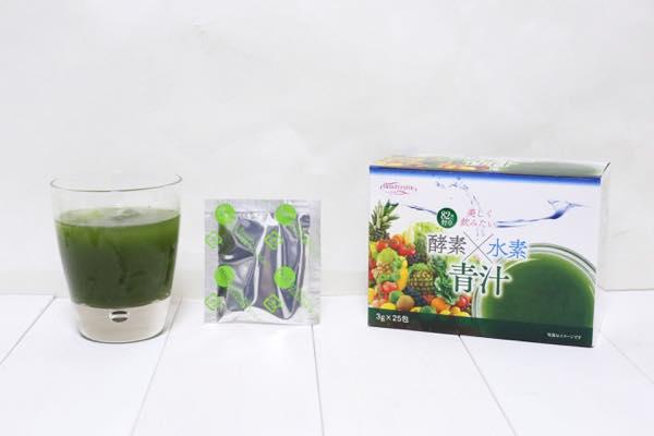 HIKARI酵素×水素青汁の口コミ体験レビュー