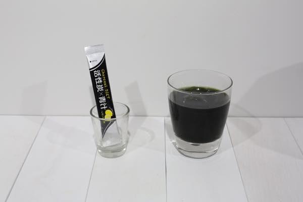 活性炭青汁の口コミ体験レビュー7